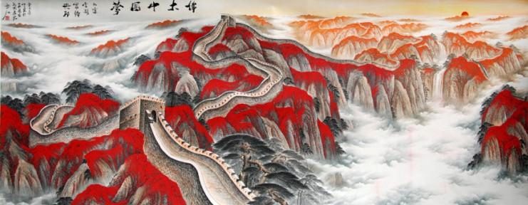 伟大中国梦 - 书画作品